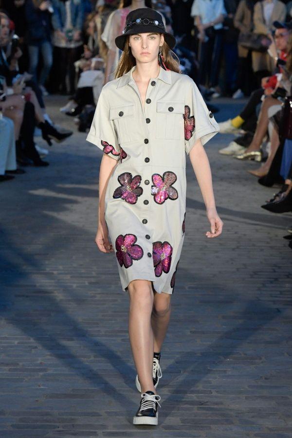 Модное платье -рубашка весна-лето 2017 Paul & Joe