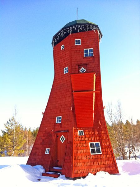 Visiting Santa's House in Finland