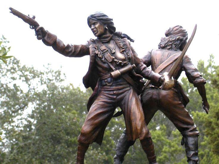 Ann Bonny and Mary Read by Erik Christianson   Real life female pirates, best friends and an overall BADASS in a time when woman had no rights