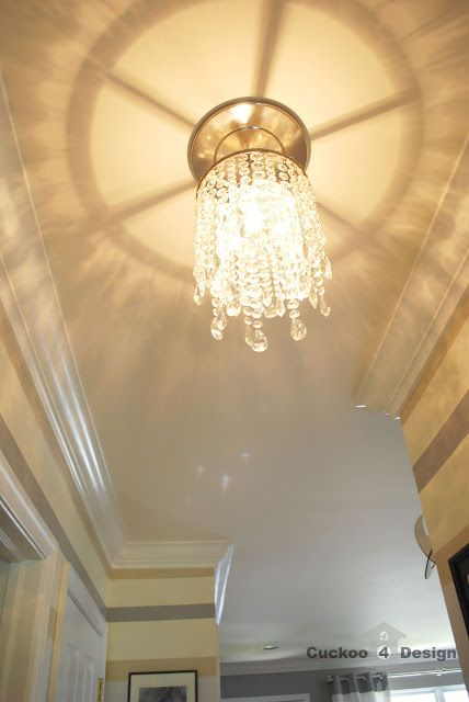 The 342 best light fixtures images on pinterest crystal diy crystal chandelier mozeypictures Gallery