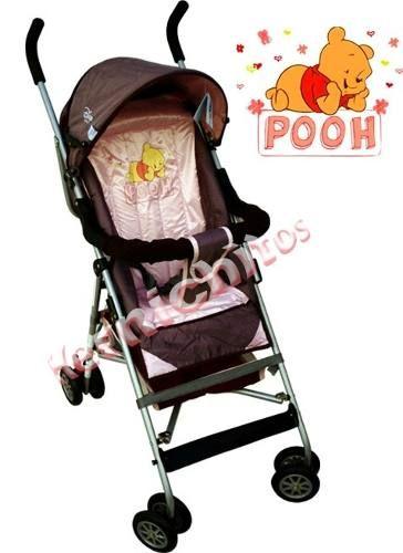 Paragüitas Reforzado Disney Pooh Rosa Para Nena - $ 1.399,00