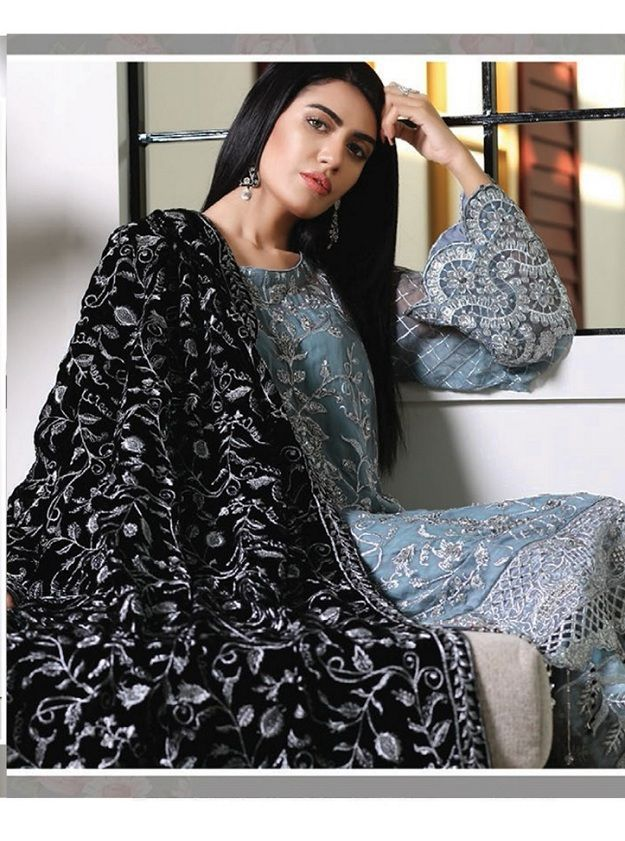 28d550bb85 Kilruba Jannat Royal Georgette With Work Designer Suits 3003 ...