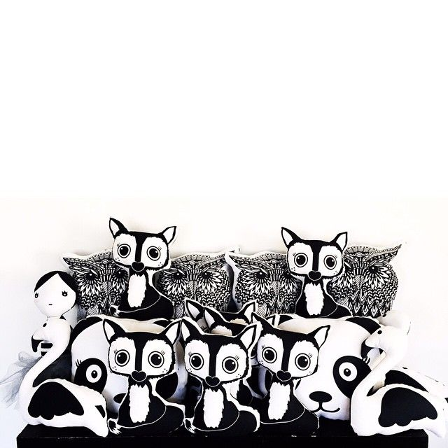 Having a house full of these Clean cuties is really proving to be a problem ... Little hands and fingers want to play with them all  help me solve this problem and buy away  #etsy #shop #pillow #fox #owl #panda #kokeshi #doll #swan #flamingo #woodlands #animal #pillow #pillows #clean #white #black #home #decor #kids #kid #baby #nursery #decor #southafrica #capetown
