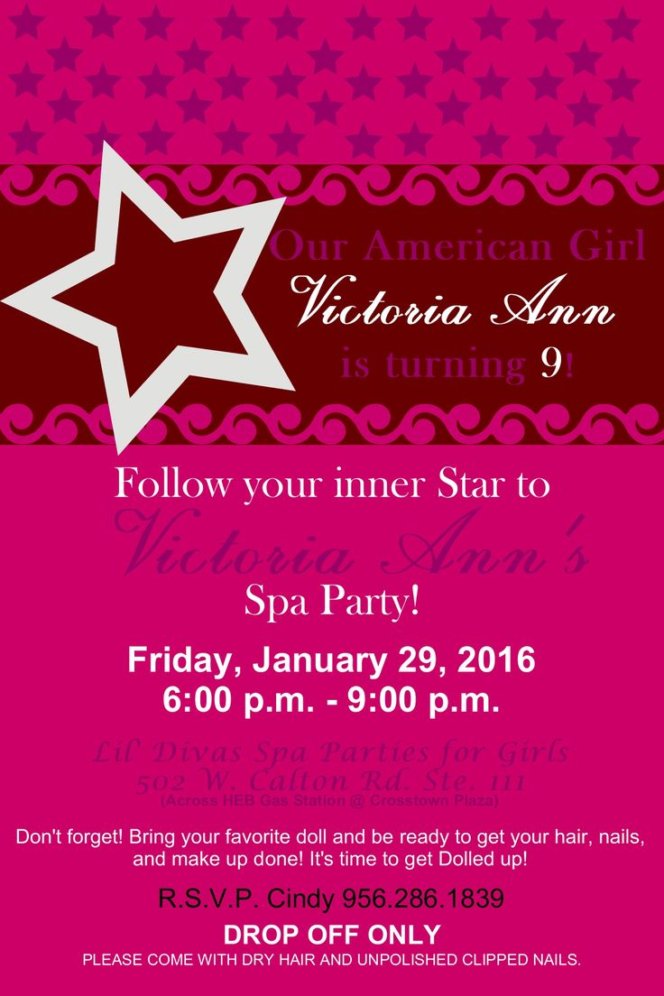31 best invitations images on Pinterest | Spas, Invitation and ...