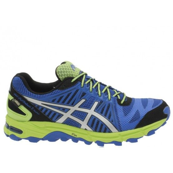 Védelem, fogás és stabilitás: Asics Gel-Fuji Trabuco 2 Neutrál Gore-Tex terepfutó cipő férfi kék,sárga terepfutáshoz ideális. Jellemzői: Ahar+. Duomax, ANTI GRAVEL TONGUE, cipőnyelv, mely megakadályozza homok vagy kavicsok beesését a cipőbe futás közben. ROCK PROTECTION PLATE középtalp, ágak, kövek és sziklák előtt óvja meg a lábat. Utolsó darab Mérete: 46