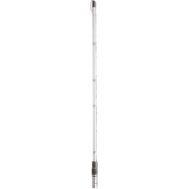 Tandem Precise Height Volleyball Net Stick, Silver