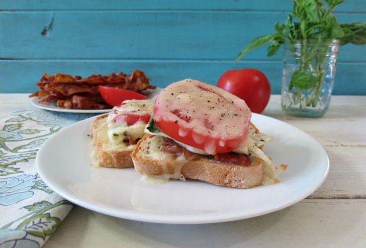 Gluten Free Open Face BTC Sandwich: Food Recipes, Eggs White, Open Faces, Gluten Free Sandwiches, Btc Sandwiches, Gf Sandwiches, Faces Btc, Bacon Egg, Free Open