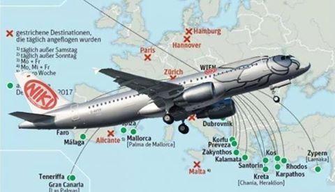 Πρέβεζα: Μεγάλη διαφήμιση της Πρέβεζας από αεροπορική εταιρία στην Αυστρία