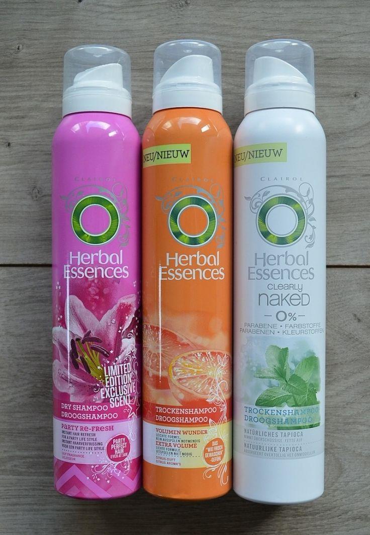 Voorkeur voor de oranje of de paarse droogshampoo - te verkrijgen in kruidvat e.d.