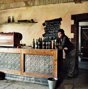 Samuel's Gorge winemaker Nairn Webb in the winery's tasting room, in McLaren Vale.