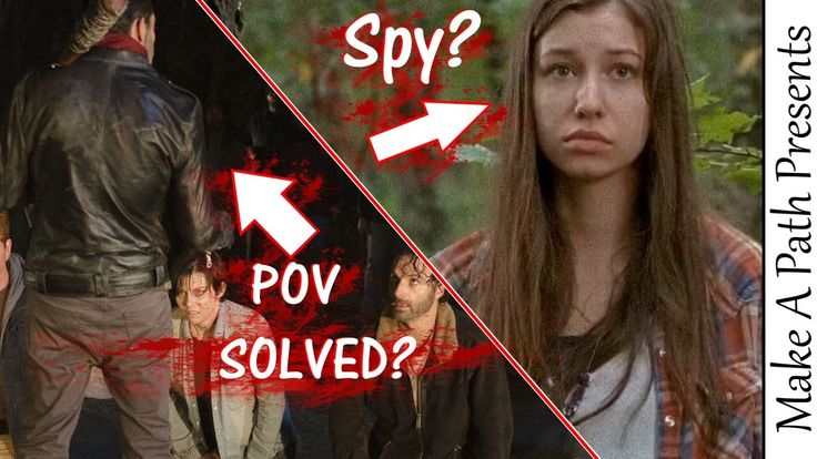 The Walking Dead Season 7 Negan Death Clues & Enid is a SPY for the Savi...