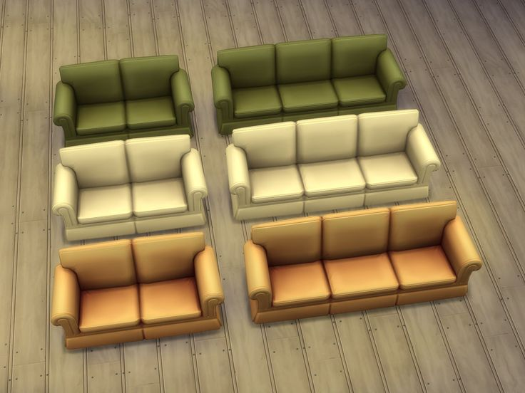Mod The Sims - Hipster Loveseat