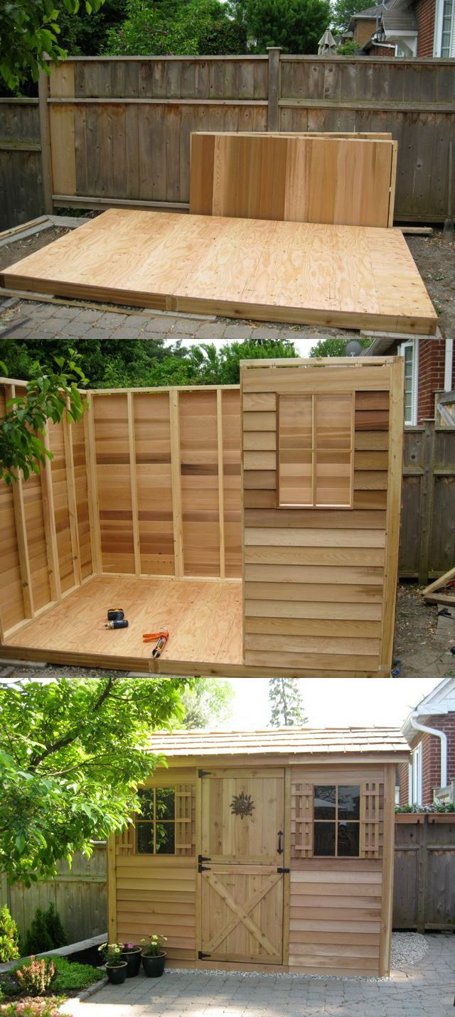 25 best shed kits images on pinterest pool houses garden houses