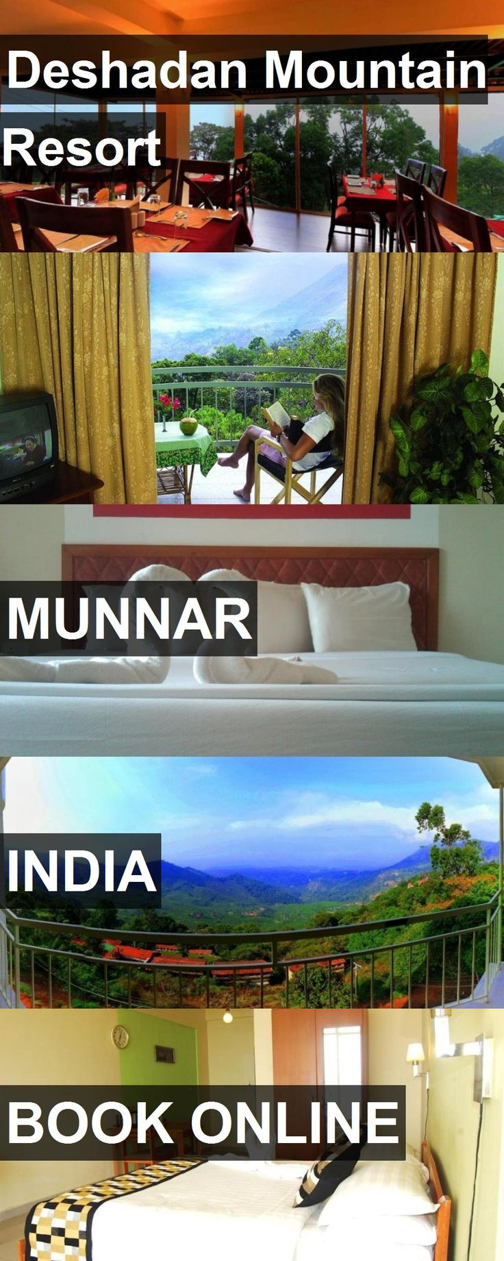 Hotel Deshadan Mountain Resort in Munnar, India. For more information, photos, reviews and best prices please follow the link. #India #Munnar #DeshadanMountainResort #hotel #travel #vacation