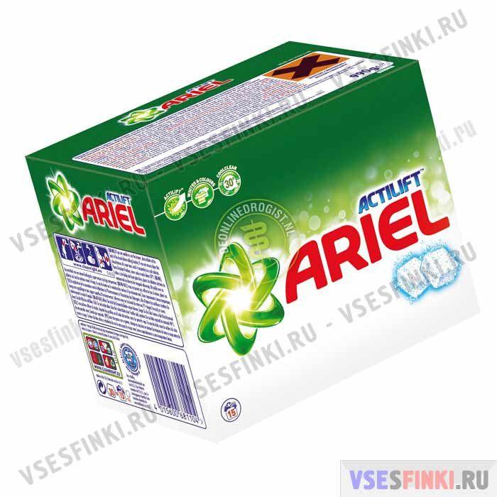Капсулы для стирки ARIEL Excel Actilift для белого26 шт