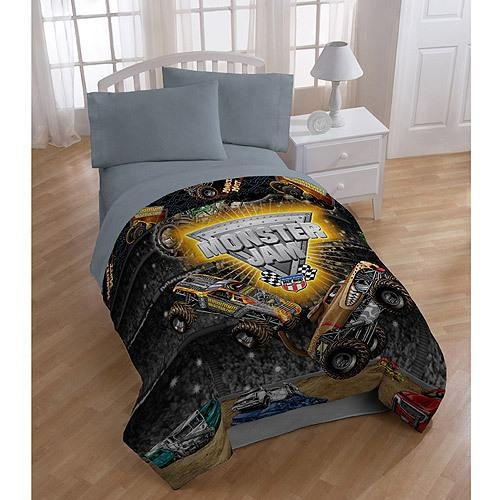 Superior Monster Jam Bedding Comforter