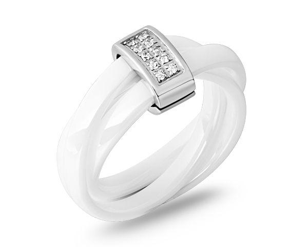 Bague anneau transparent