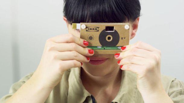 Ikea teases a cardboard digital camera