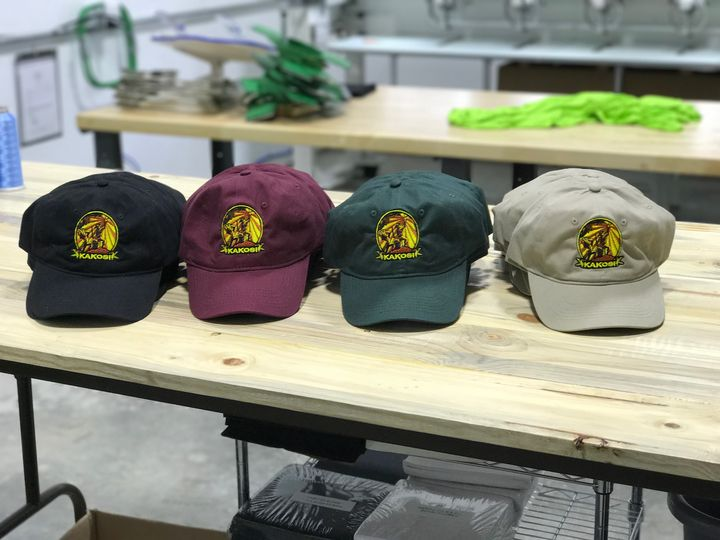 Hats 4 ways by Johnny Battle  #embroideredlogo #embroideredlogos #embroidery #customembroidery