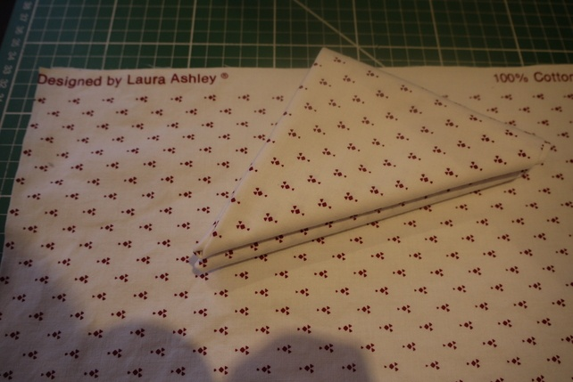 Vintage Laura Ashley Fabric £3.50