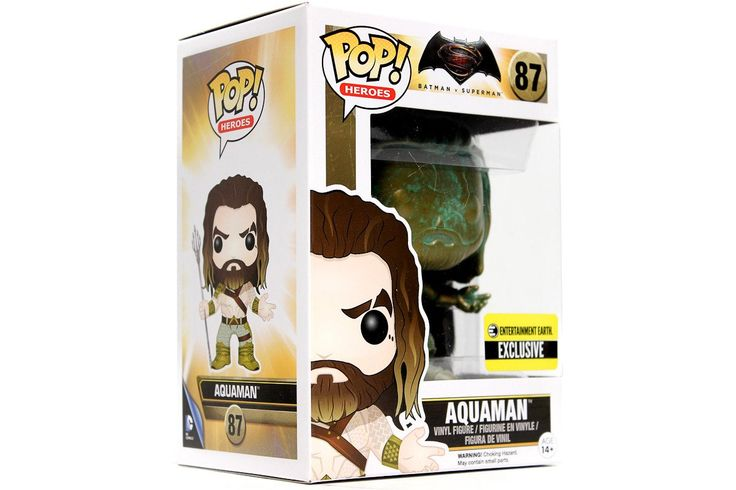 POP! Heroes: Batman VS Superman - Aquaman [Patina]