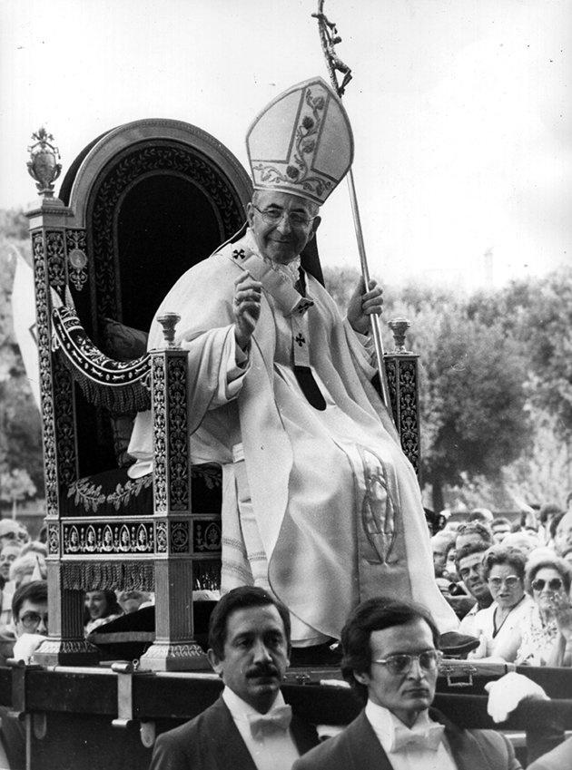 John Paul I  https://www.pinterest.com/maurapetzolt/%2B-catholic-~-popes/