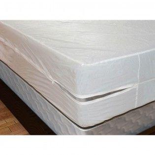 vinyl mattress cover with zipper heavy gauge mattress covers - Mattress Bags