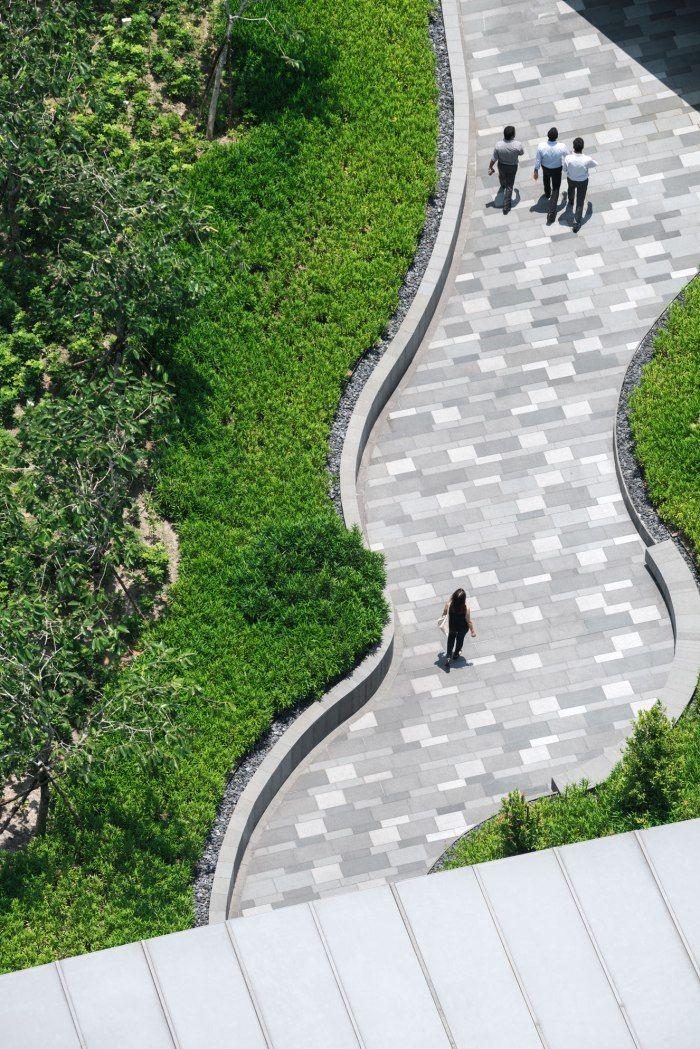 Comtech (II) Landscape Design by Shma | Wison Tungthunya & W Workspace