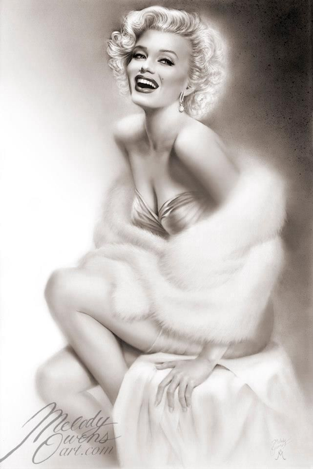 Marilyn Monroe Limited Fine Art Print of original portrait painting - Signed by…