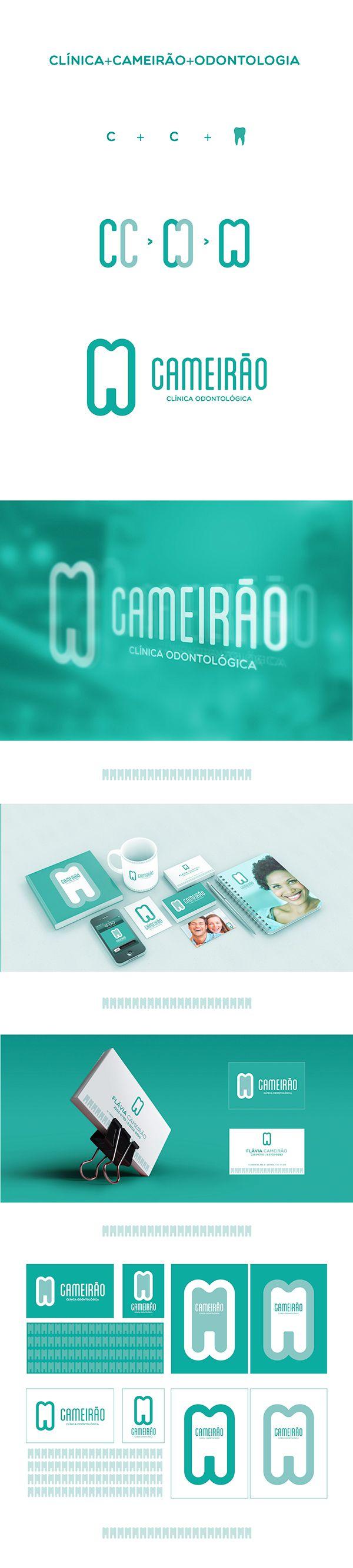 CLÍNICA CAMEIRÃO DE ODONTOLOGIA - Branding on Behance