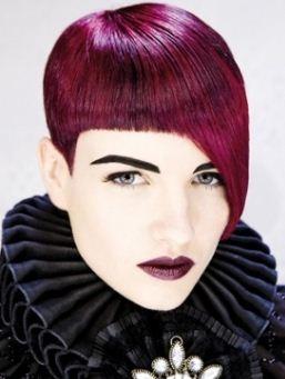 Rosso rubino colore capelli inverno 2011 2012