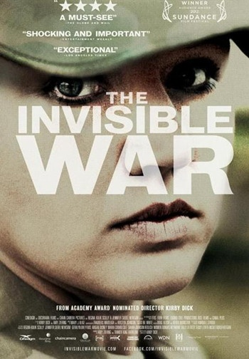 The Invisible War--a groundbreaking investigative documentary about the epidemic of rape within the US armed forces, the institutions that perpetuate and cover up its existence, and its profound personal and social consequences.