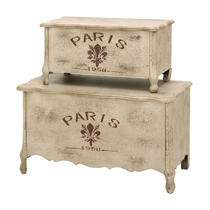 Paris Trunk Set