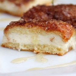 Haven't tried this yet, but sounds so yummy! Sopapilla Cheesecake Pie - Allrecipes.com