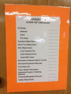 FACS Classroom Ideas: Foods Lab like the one in the pic. But the website has classroom organizing skills.