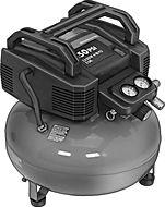 McMaster-Carr - Oilless Air Compressor, Pancake Tank (9965K62)