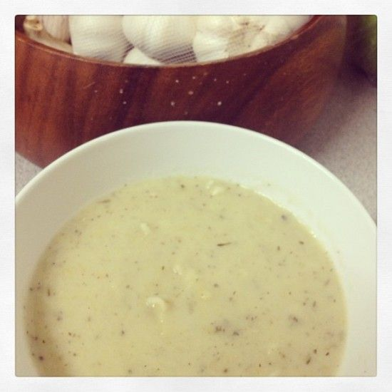 Your Inspiration at Home Potato & Leek Creamy Dairy-Free Soup #YIAH #dairy free #YIAH Greek Taverna
