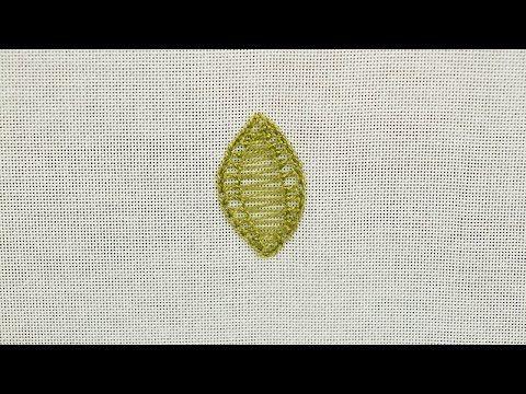 Çit İğnesi Tekniği ile Yaprak | Berrin Şengöz ile Teknikler | Hobi Sitesi - YouTube