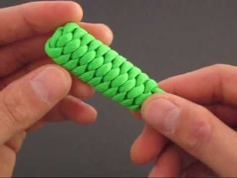 How to Make a Pupa (Paracord) Pull Tie by TIAT - YouTube