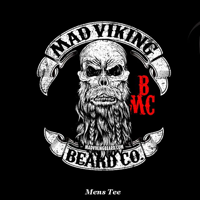 Mens Mad Viking Beard Co Original TeeSizes Small - 5XSmall through 2X comes on a softstyle vintage tee with soft print3X through 5X comes on a heavyduty 100% preshrunk cotton tee with soft print.A percentage of sales of this tee goes to Childrens Miracle