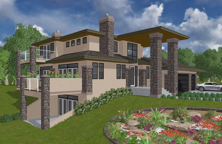 The Skokie 2- Boss Design Ltd.    #homeplans #architecturaldesign