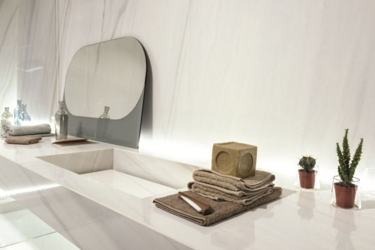 Bílé velkoformátové obklady připomínající mramor ULTRA MARMI | Keramika Soukup