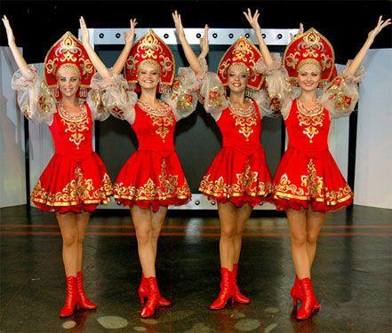 костюм для русского народного танца