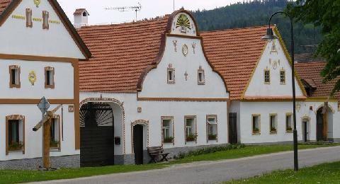 Folk Baroque building czech Republic - Google Search, Holasovice