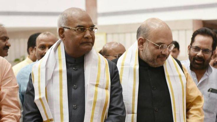 Presidential Poll: Ram Nath Kovind To File Nomination Today In PMModi's Presence
