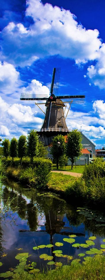 The Salamander windmill, Netherlands