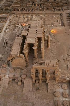 Luxor, The Ramesseum on the western bank - Egypt