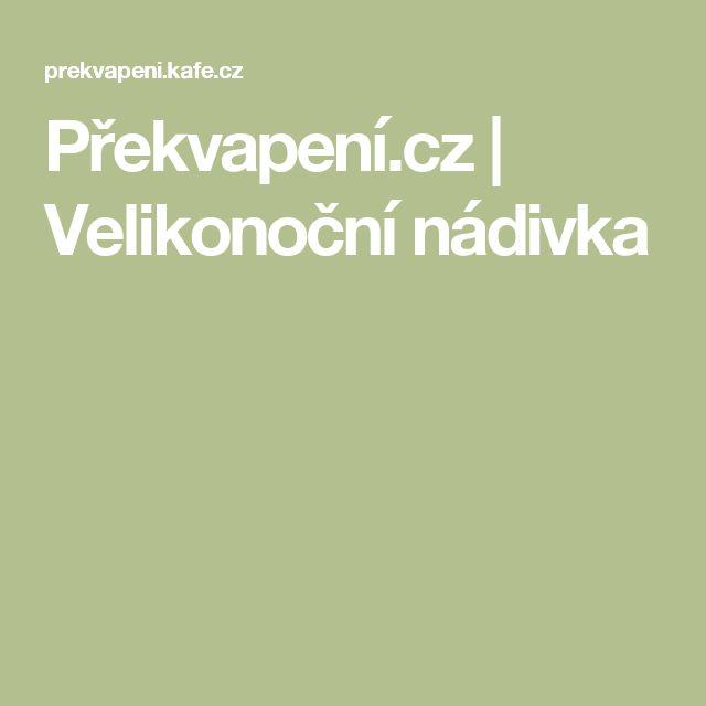 Překvapení.cz | Velikonoční nádivka
