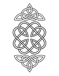 Image result for free printable celtic knot coloring pages