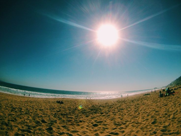 Beautifull day, Reñaca Chile, Beach, go pro. VSCO cam